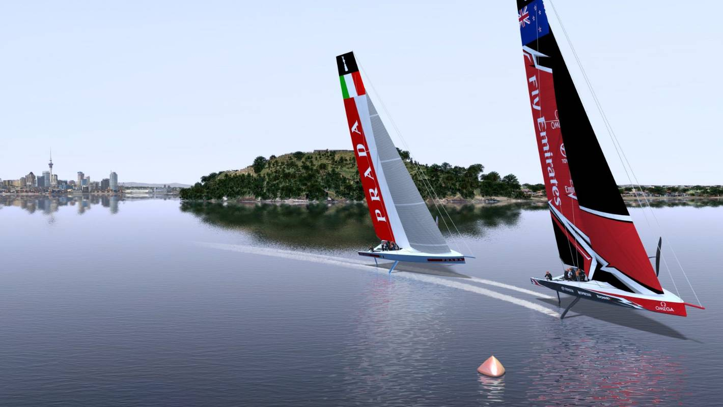 Boost for America's Cup boat as foil arms pass crucial test in Italy