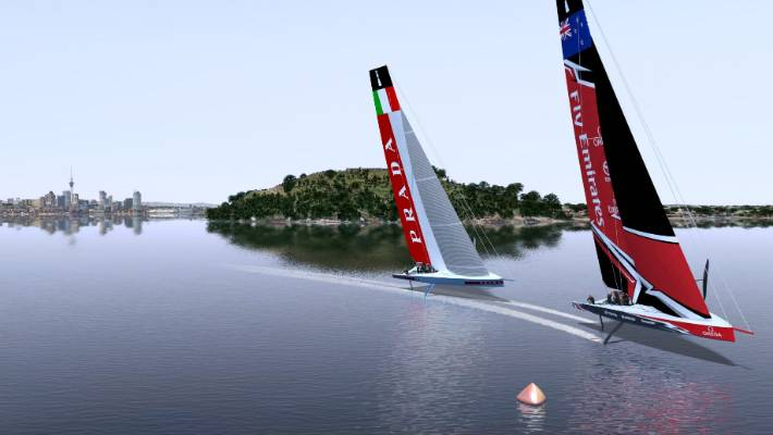 How America s Cup racing is expected to look in the foiling monohulls for  Auckland 2021. e480766cd46b