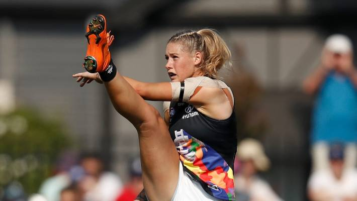 Tayla Harris photo comment AFLW controversy exposes sexism within AFL circles
