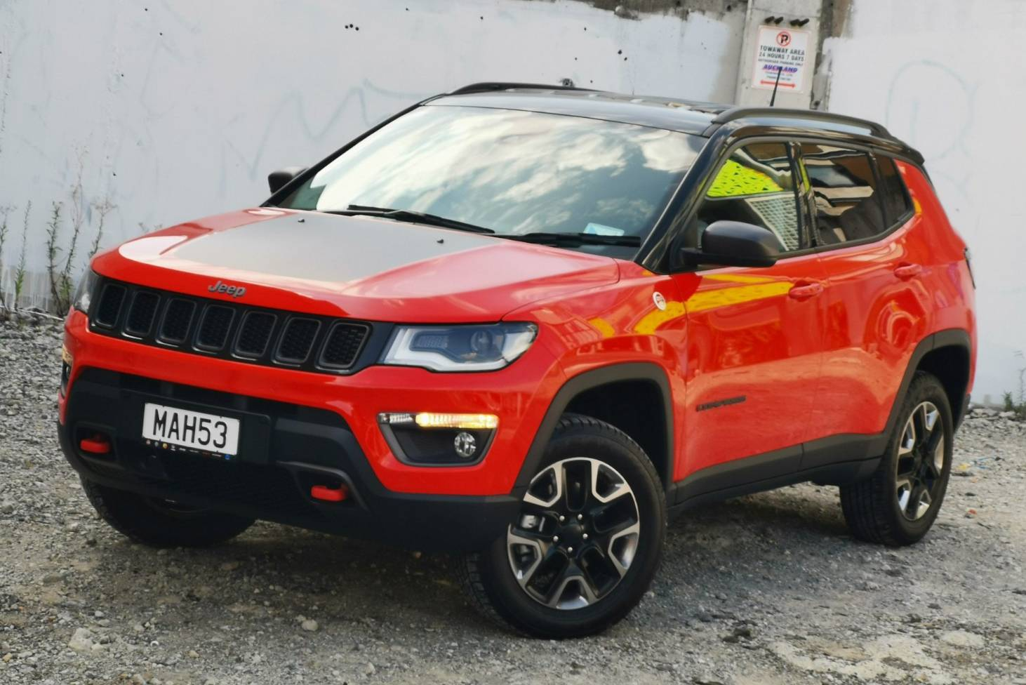 Jeep S Compass Trailhawk Is Likeable But Flawed Stuff Co Nz