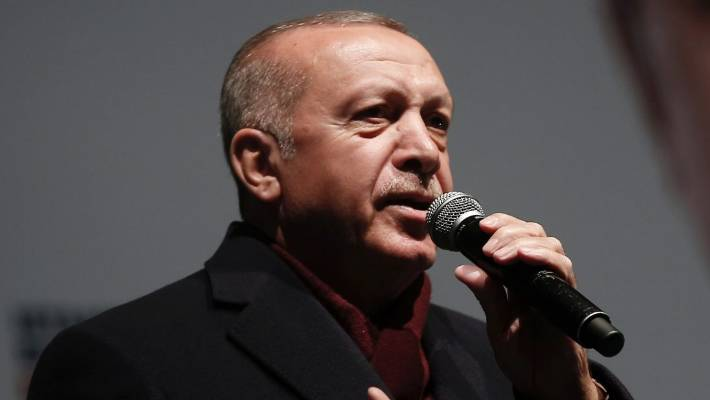 Erdogan: Muslims must unite so mosques won't get swamped with blood again