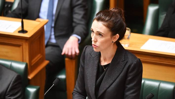 Jacinda Ardern presided over changes to firearms regulations in December.