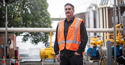 Jonathan Piggot, plant manager at Watercare's wastewater treatment plant in Māngere, says better communication with the ...
