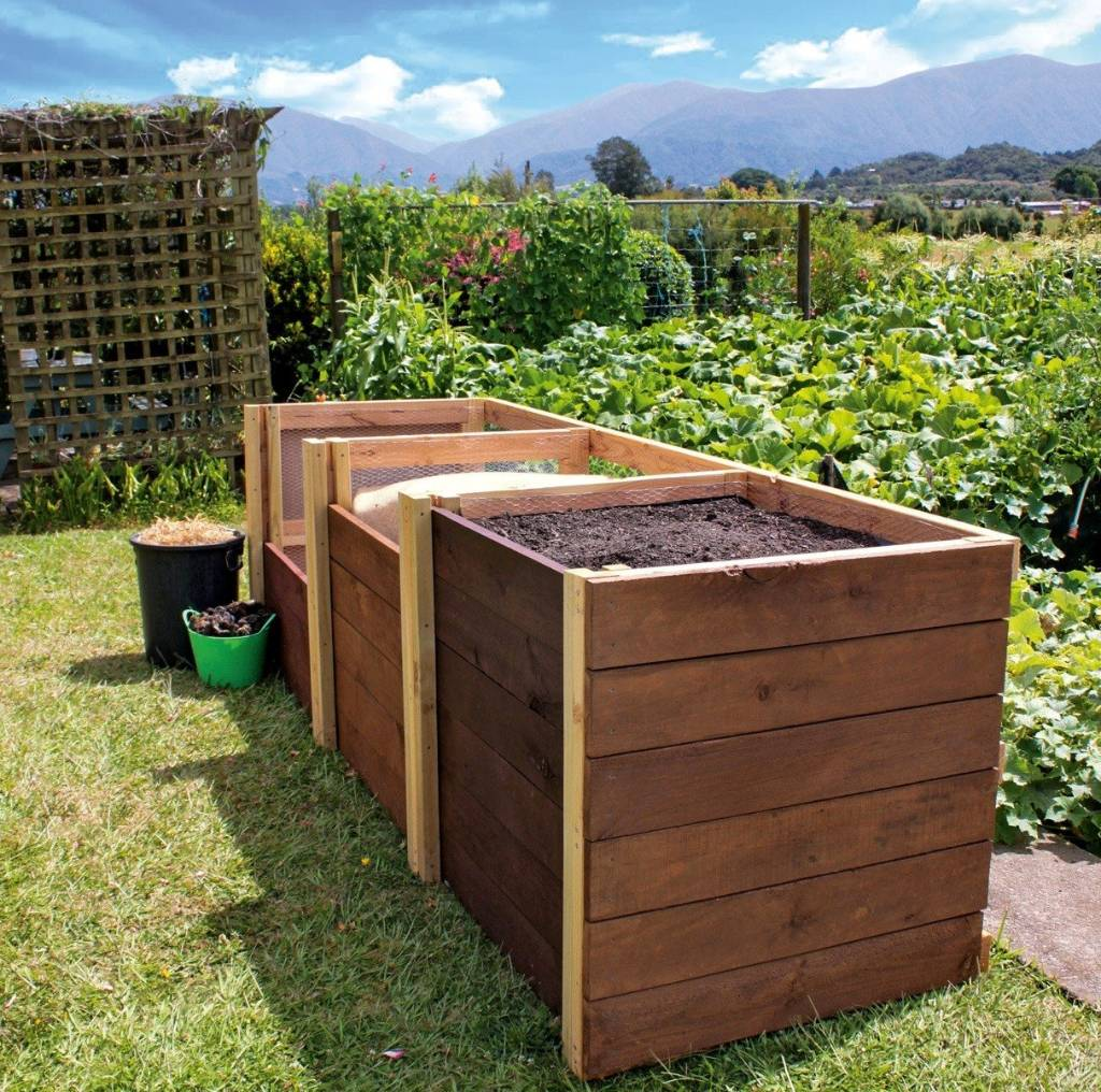 Diy Project Triple Bay Compost Bin Stuff Co Nz