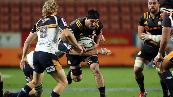 Luke Jacobson is returning to one of the Chiefs' sweater with his inability to fight the Bull.