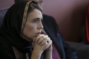 The anger came out when Prime Minister Jacinda Ardern wore a headscarf.