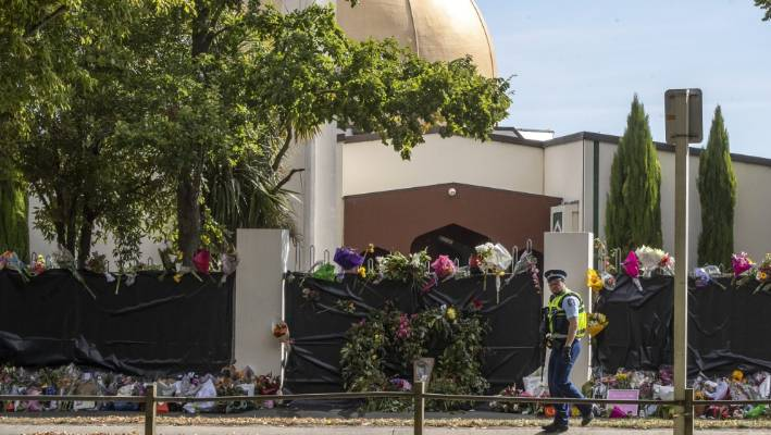 Masjid An-nur on Deans Ave, where more than 40 of the 51 March 15 terror attack victims were killed.