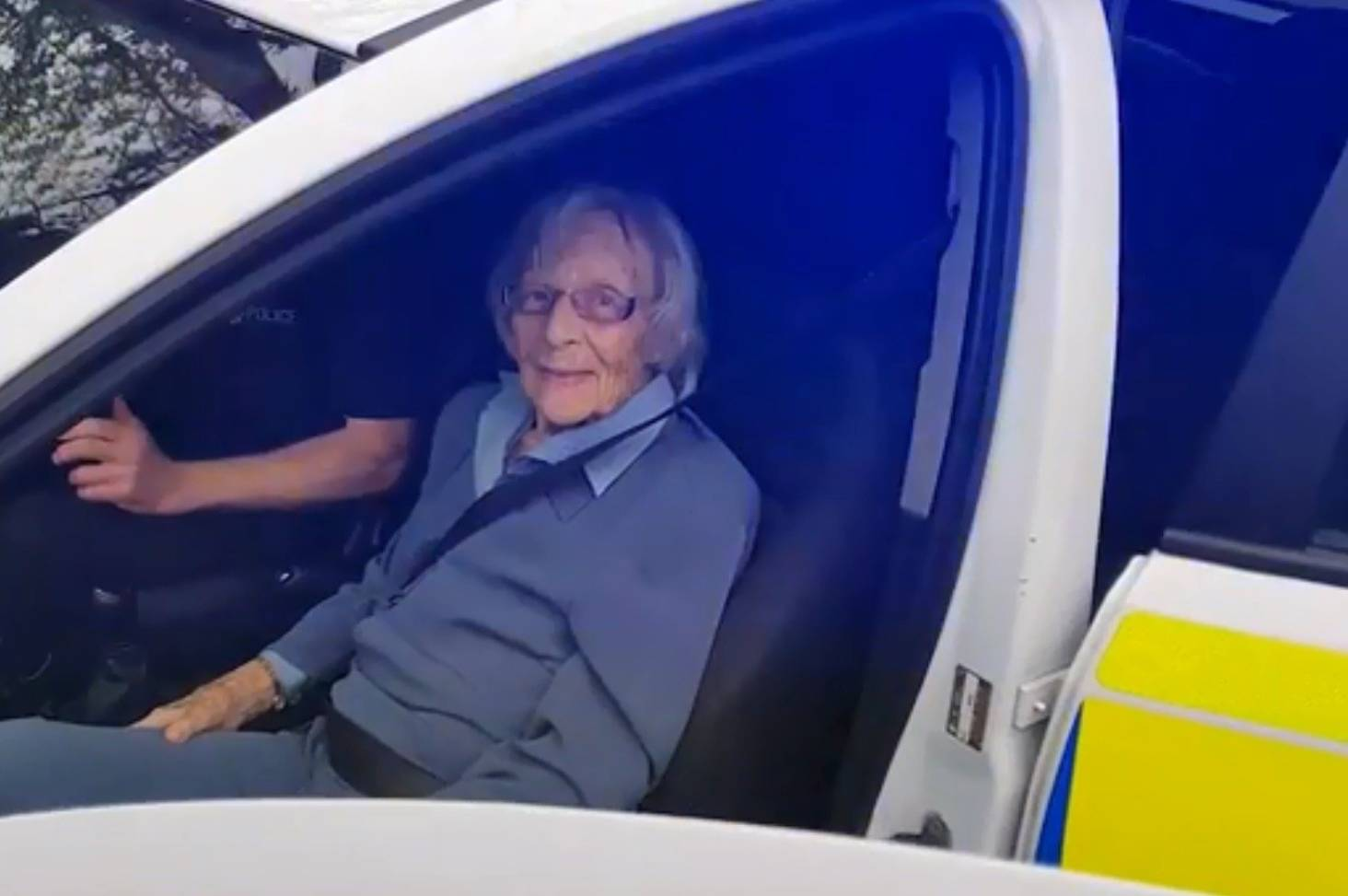 Police arrest 104-year-old woman to fulfil her greatest wish   Stuff