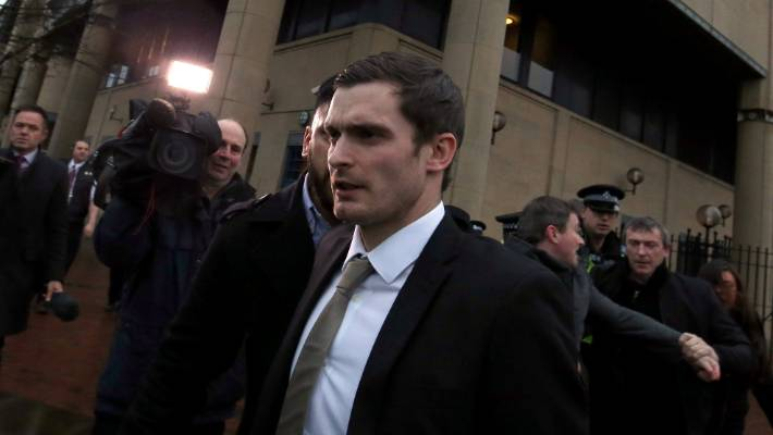 Former England player Adam Johnson released from prison
