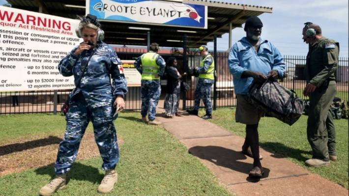 Cyclone Trevor hits Australias northern coast