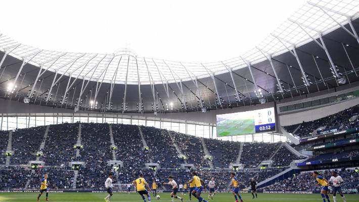 The first ever goal scored at Tottenham Hotspur's new stadium
