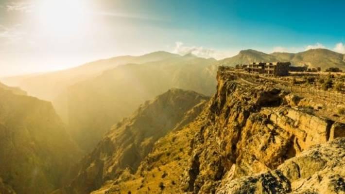 Alila Jabal Akhdar, high in the hills.