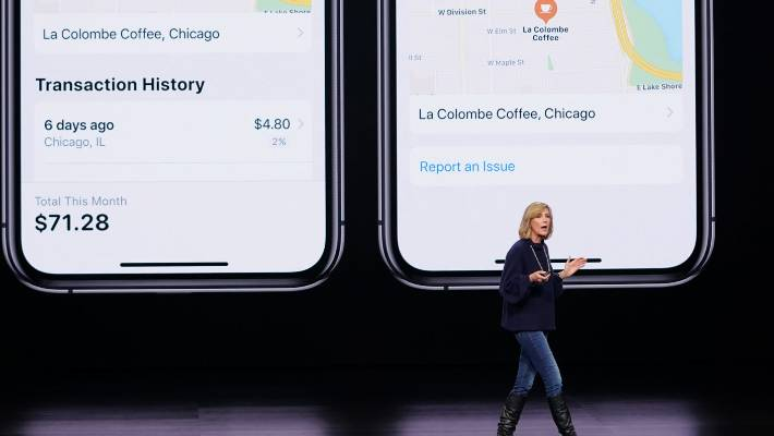 Jennifer Bailey, vice president of Apple Pay, said the card excludes common fees such as annual fees, overseas transaction fees and late fees.