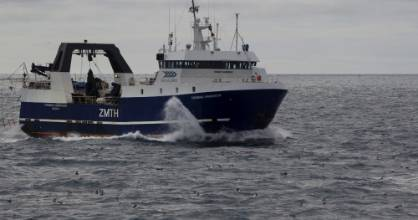 The Sealord vessel Thomas Harrison Hoki fishing in Cook Strait. The Nga Tapuwae o Māui agreement  signed on Tuesday will ...