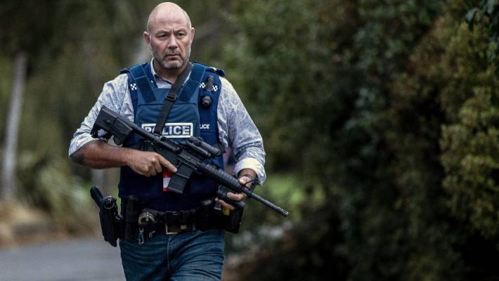 Christchurch street closed as armed police search property | Stuff co nz
