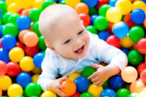 You don't want to know what's in that ball pit.