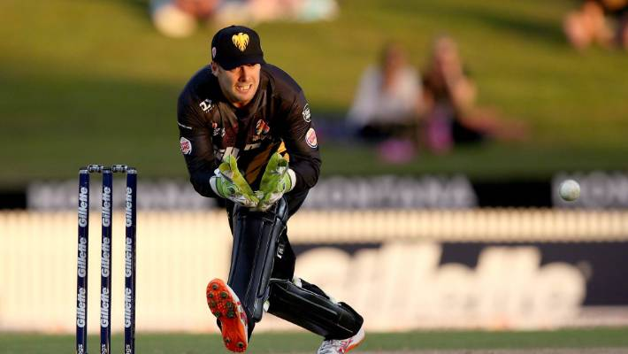 Wellington wicketkeeper Tom Blundell bolts into Black Caps World Cup