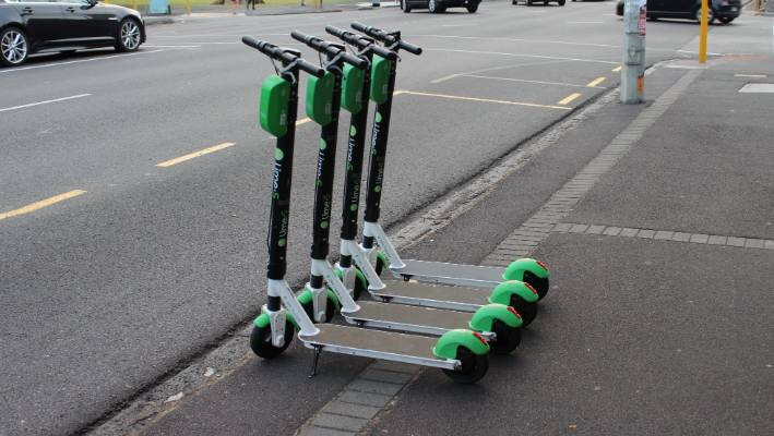 Hacked Lime scooters in Brisbane playing offensive messages to riders