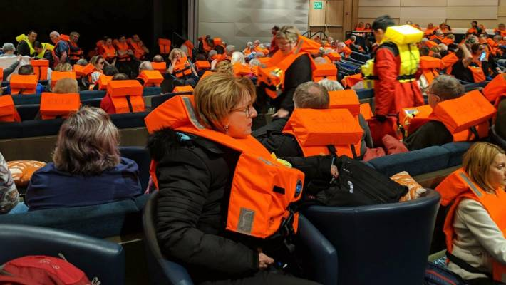Low engine oil caused Norway cruise mayday