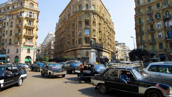 Cairo is big and intimidating. It's chaotic. It's ramshackle.