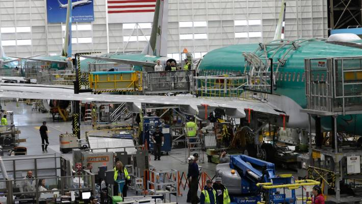 Boeing CEO points to risk and responsibility in fresh statement
