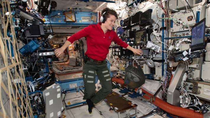 McClain was supposed to participate in the spacewalk on Friday but pulled herself out of the lineup.