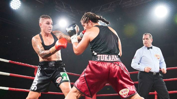 New Zealand boxer Geovana Peres turns self-belief into world title