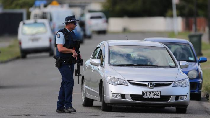 Police arrested on Clyde Cres, Palmerston North, closed.