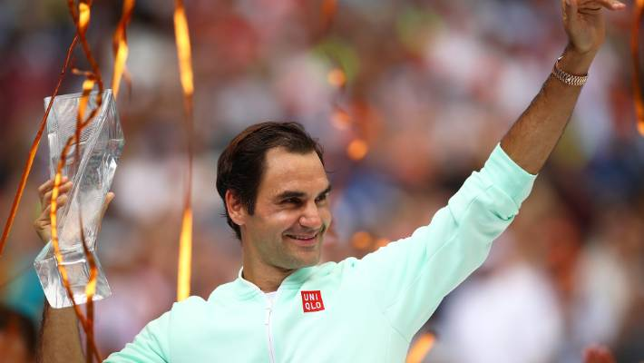 Roger Federer collects fourth Miami Open crown with victory over John Isner