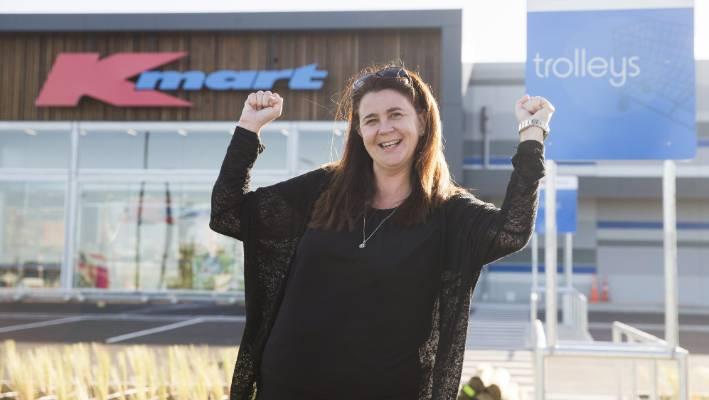 048832e03f7 Blenheim Kmart enthusiast Linda van Kuyk will take a tour of the new Kmart  before doors
