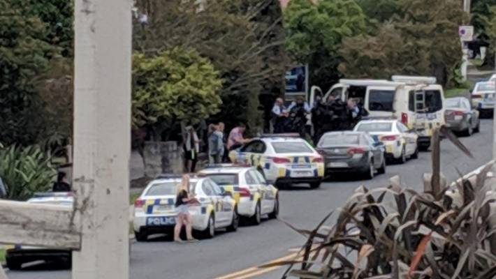 Armed police in West Auckland, Glen Eden Primary School in lockdown