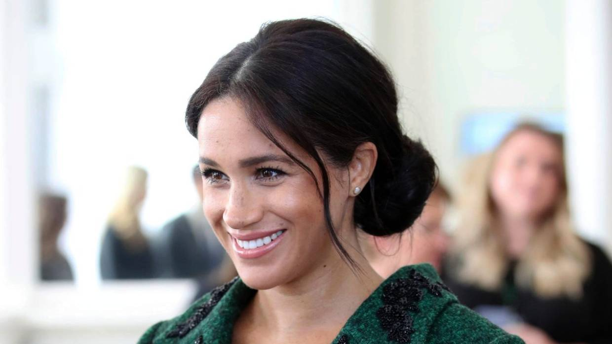 Meghan, Duchess of Sussex was once an ordinary human being with a real name. — Photograph: Associated Press.