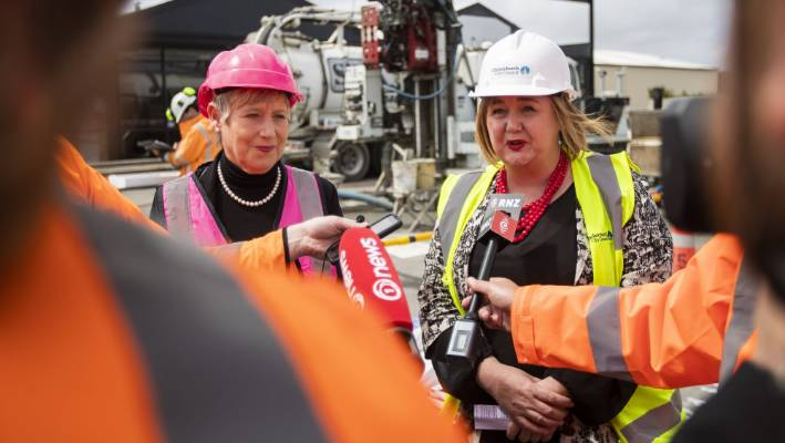 Mayor Lianne Dalziel (l) and Recovery Minister Megan Woods. The two old friends will be haggling over the millions still at stake in Christchurch's recovery.