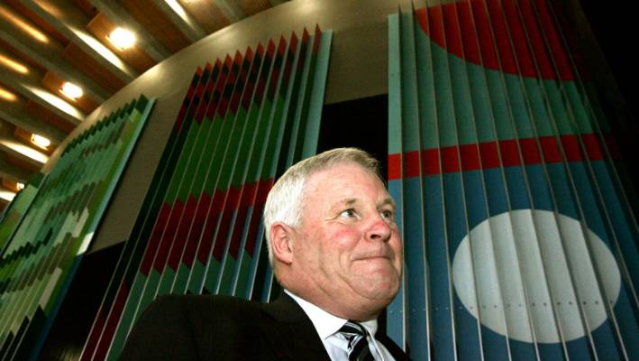 Treasury man: Chris Mackenzie - here in old job of delivering budgets – warns CCC must bring its A game.