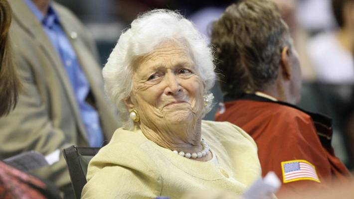 Trump on Barbara Bush: 'Look What I Did to Her Sons'
