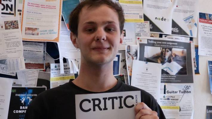 CCTV identifies 'non student' uplifting controversial Critic