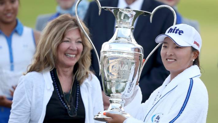 Running to Jin Young Ko, the Dinah Shore prize goes after a massive impact in the ANA Inspiration at Mission Country Country Club.