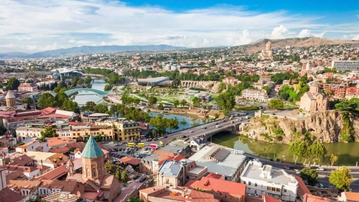 Tbilisi, Georgia: These sulphur baths aren't for the faint-hearted