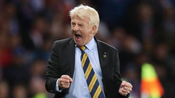 Scotland-born Gordon Strachan got hot water for mentioning how Johnson Johnson could go to football, who has spent three years in prison for sex offenses.