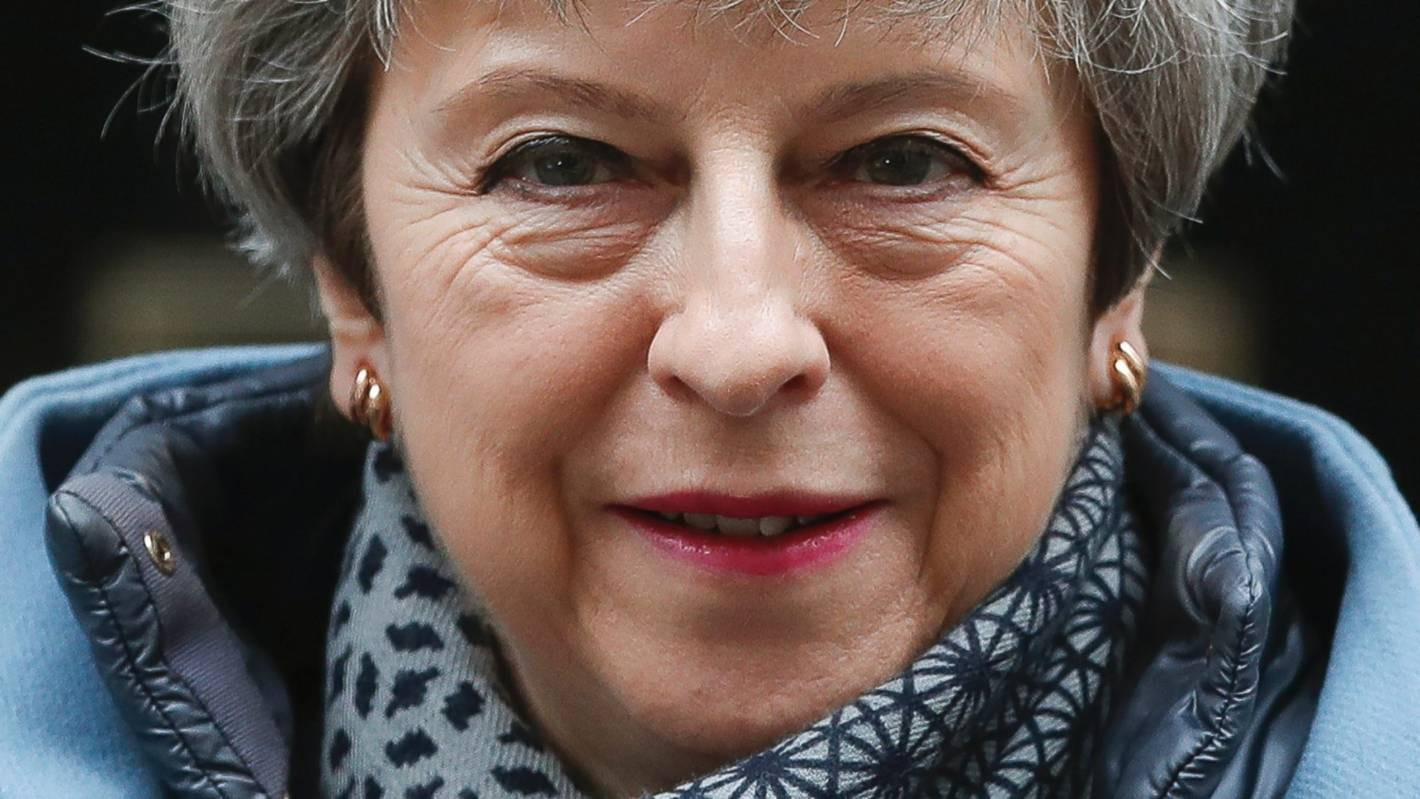 UK Prime Minister Theresa May's tipping point