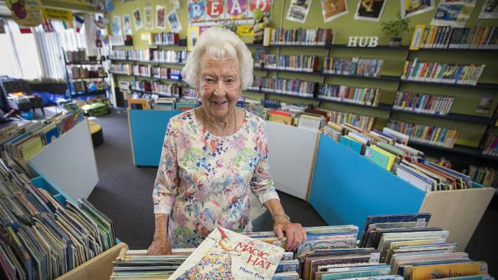Long-time Russell Street School librarian issues her last book