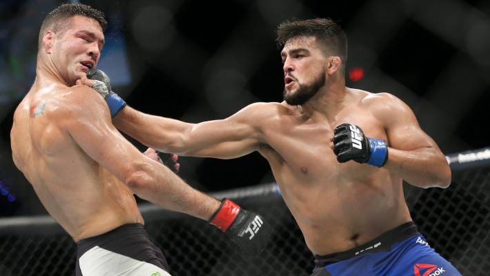 Kelvin Gastelum ready to derail Israel Adesanya 'hype train' at ...