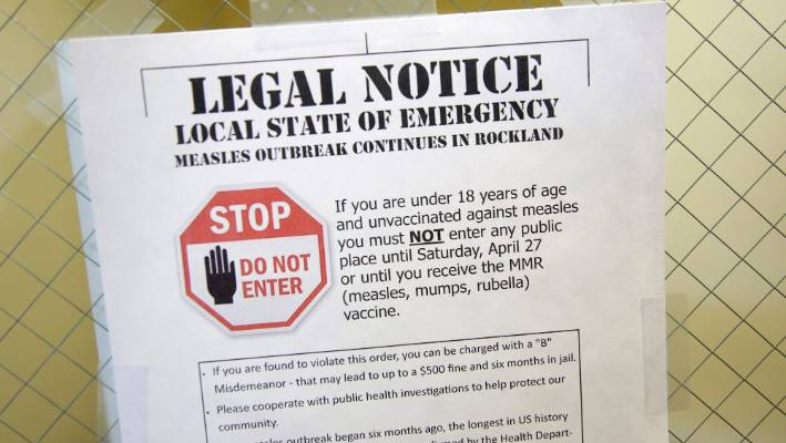 Measles outbreak: NYC threatens fines for unvaccinated Williamsburg residents