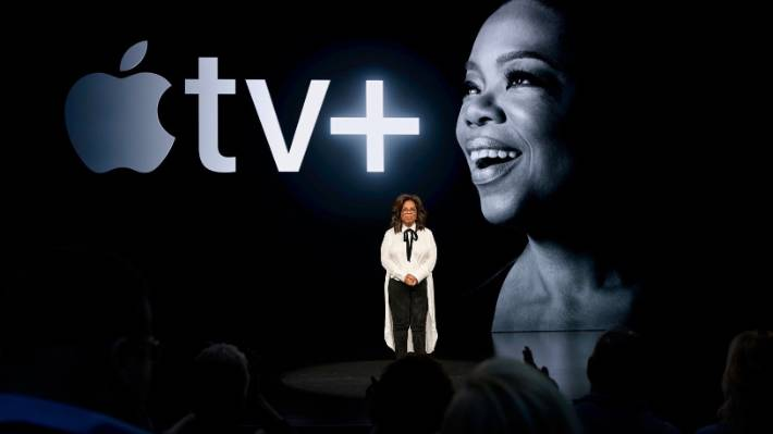 Oprah Winfrey became once one in all the celebs old to delivery Apple TV plus.