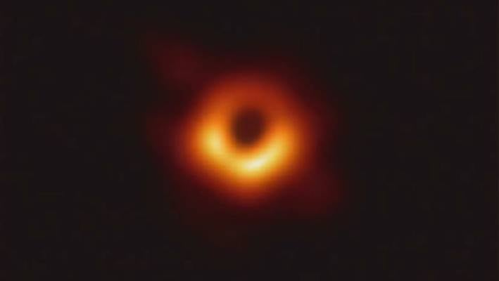 The image of the black hole was revealed during a live-streamed press conference.