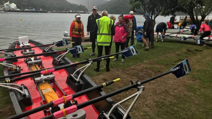 A group of international rowers have made their first strokes of a week-long tour of the Marlborough and Nelson regions.