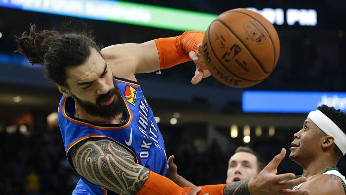 Thunder set franchise record for made three-pointers in win over Bucks