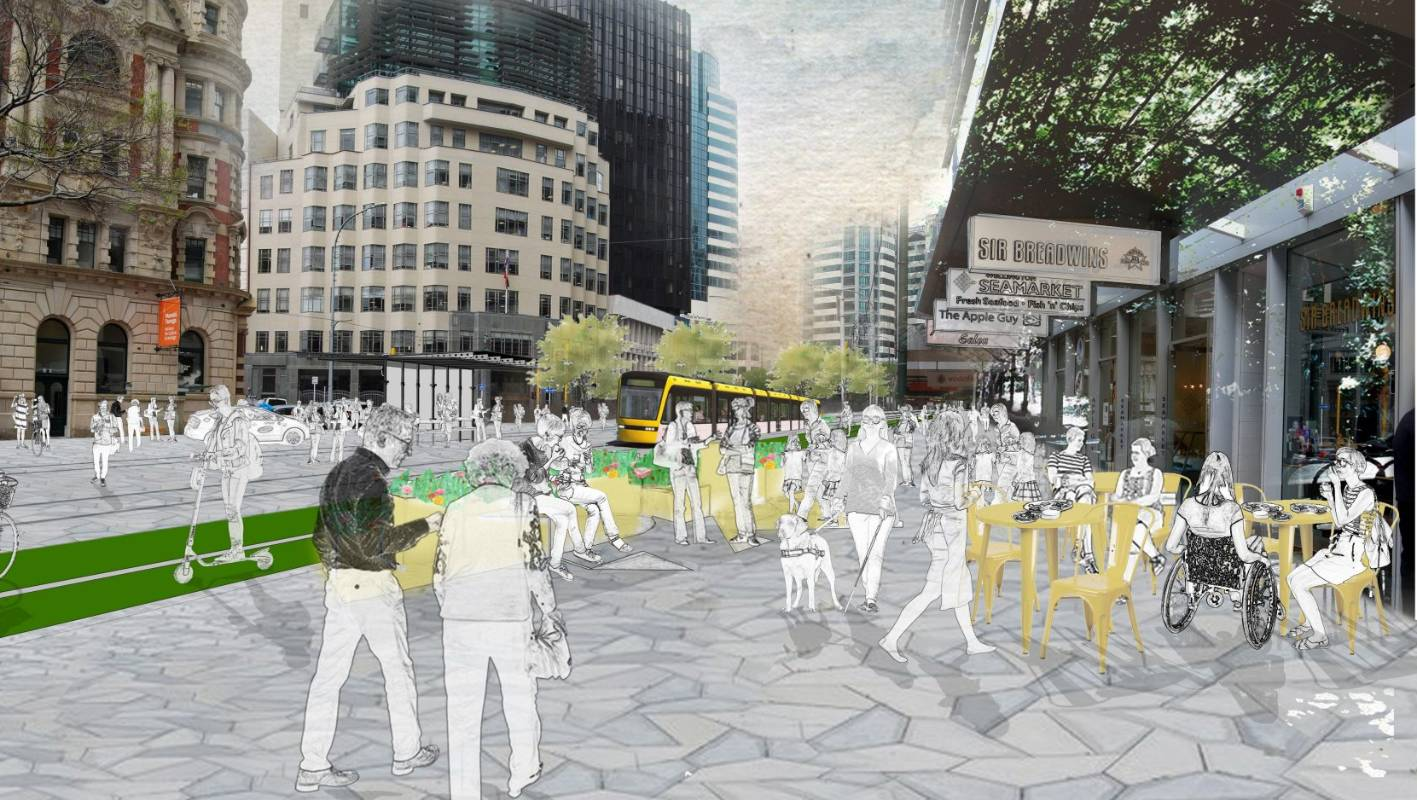 Talk Wellington: How capital streets might look if people and life were bigger priority than cars