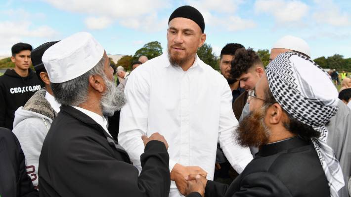 All Black Sonny Bill Williams is opening up over his faith, in the aftermath of the Christchurch terror attack.