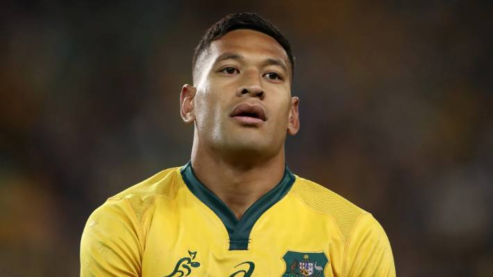 International Gay Rugby praise action taken against Israel Folau